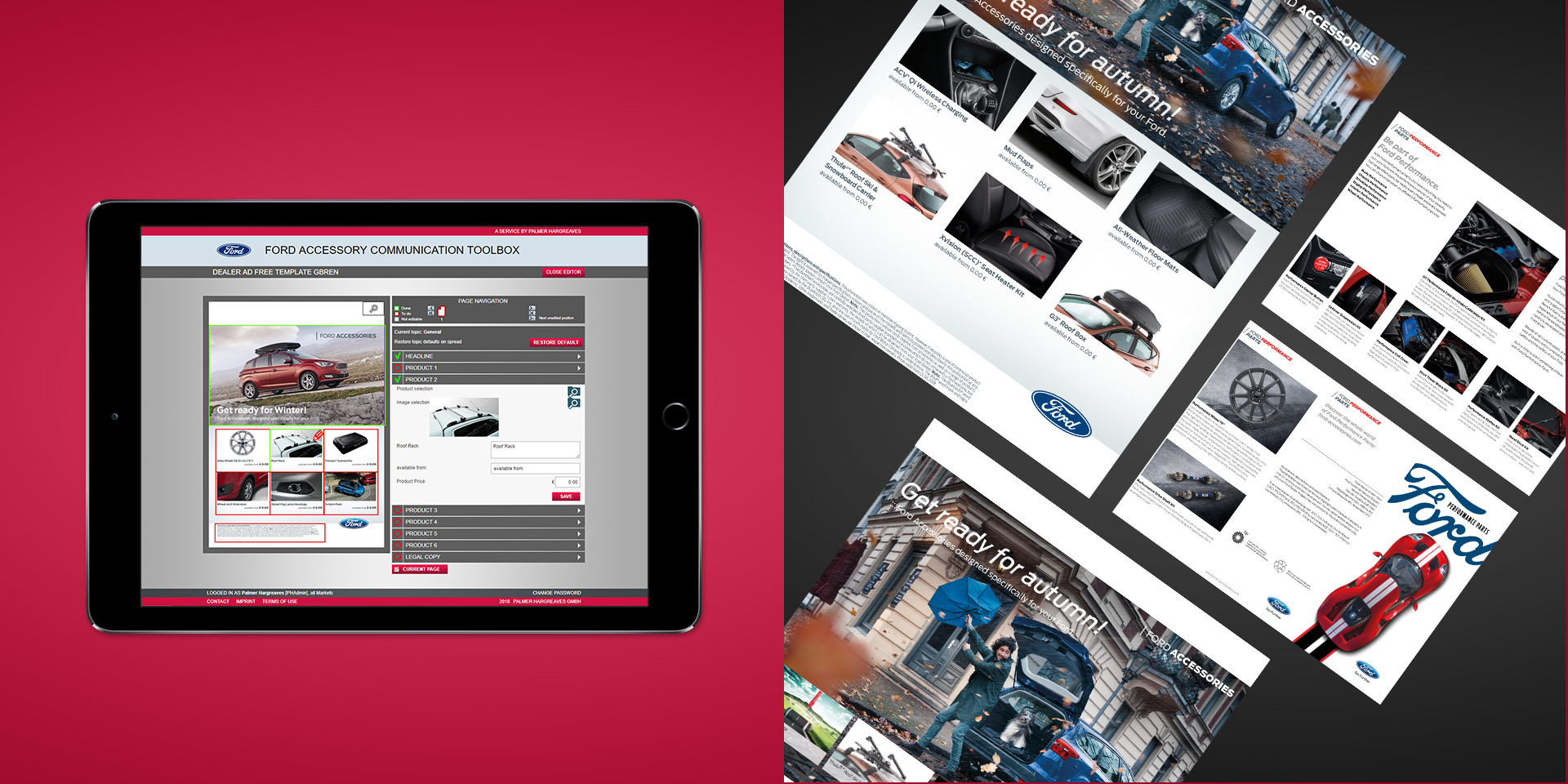 Ford Europe – Online Accessory Base – Brochure