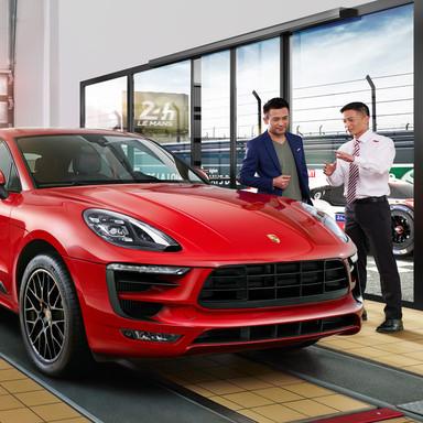 Porsche trust campaign