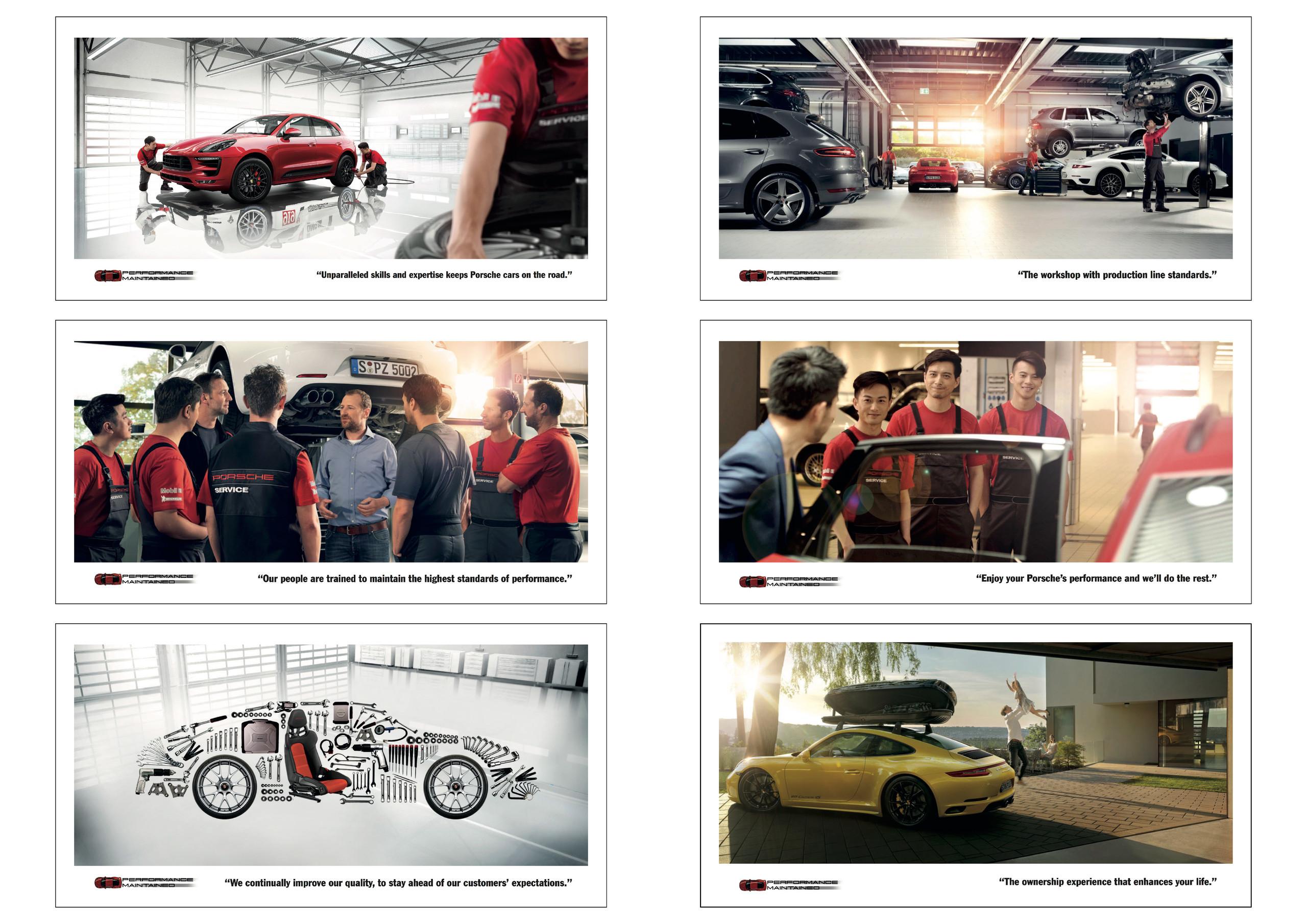 Porsche Service Pillars