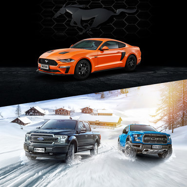 Ford GCN accessory products shooting & flyer design