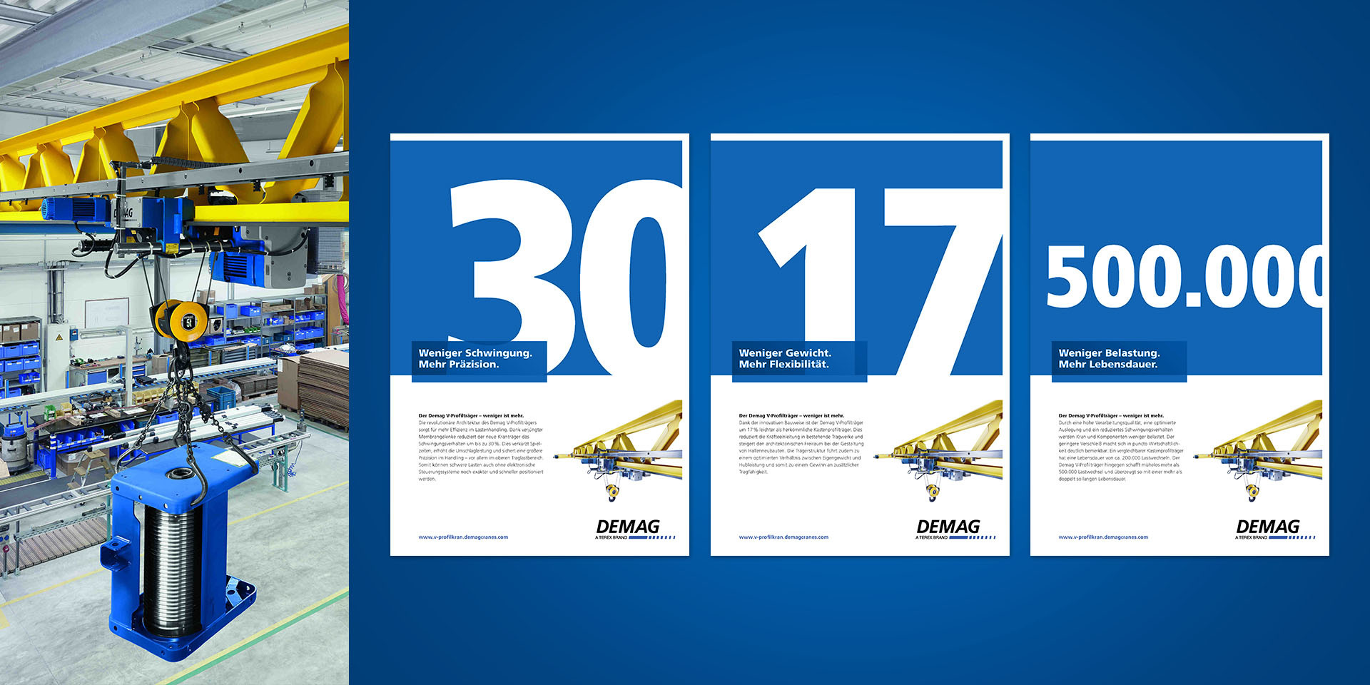 Demag Cranes – V Profile Crane – Advertisement
