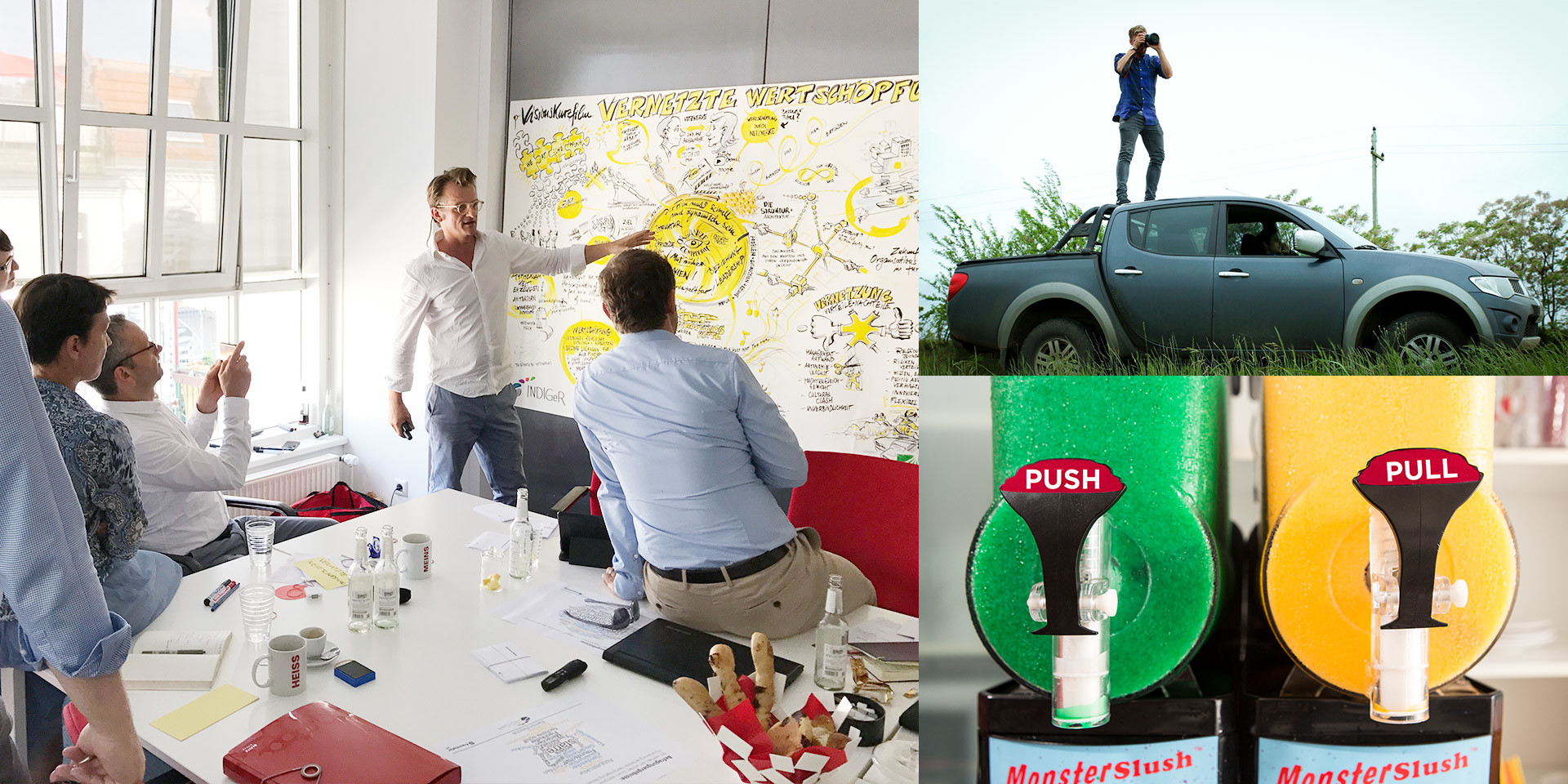 Consulting, Marketing & Communication Strategy, Brand Development & Management, Workshops