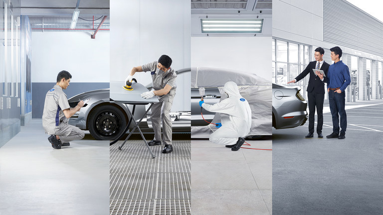 Ford GCN &  IMG collision marketing assets development