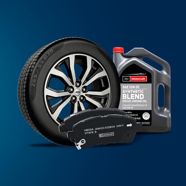 Ford IMG branded parts campaign