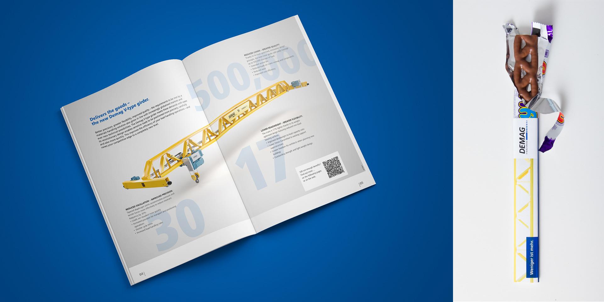 Demag Cranes – V Profile Crane – Brochure & Give-Away